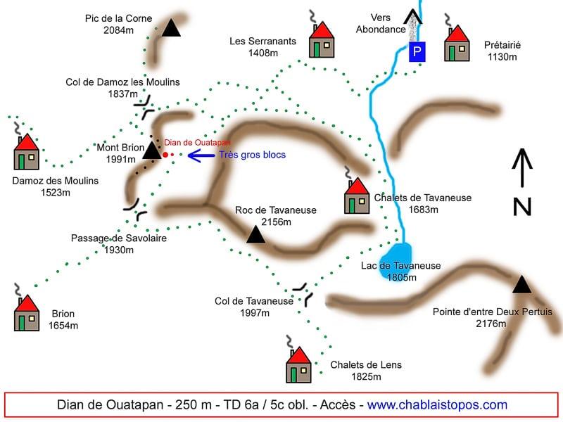 Dian de Ouatanpan / Accès général