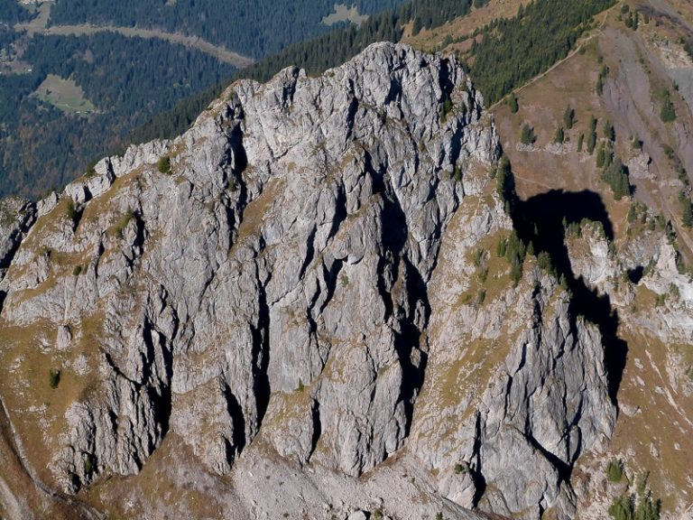 La face est du Mont Brion