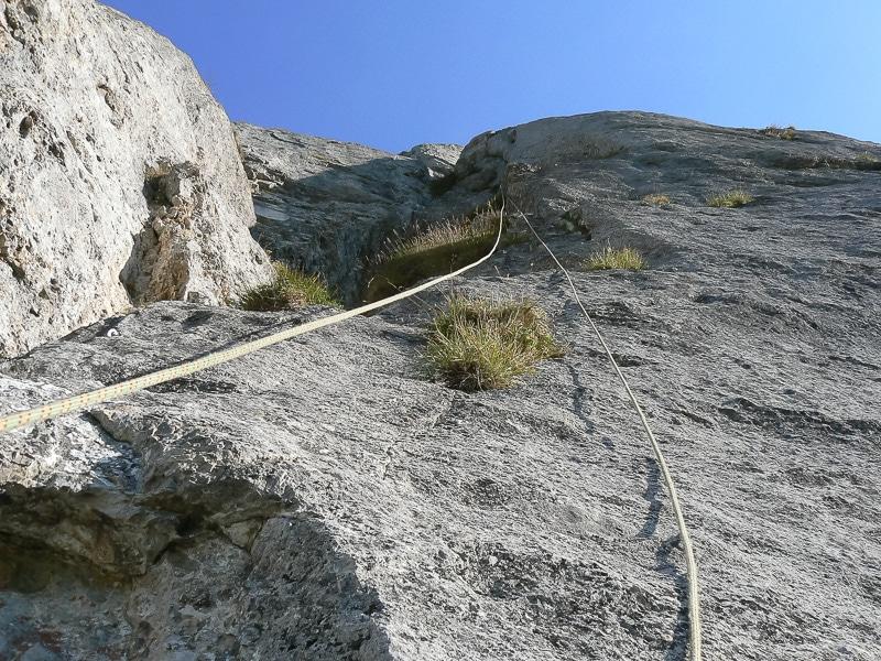 Verticale de l'Araignée / 6e longueur