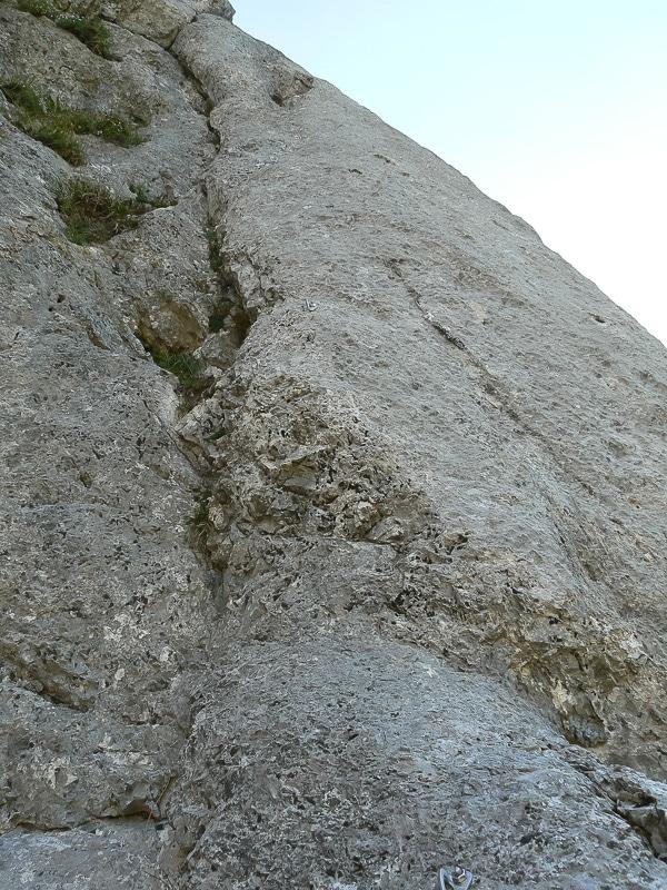 Verticale de l'Araignée / 7e longueur