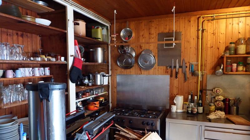 L'ancienne cuisine