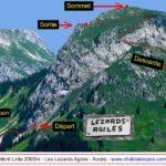 Lézards Agiles / Accès et voie de descente
